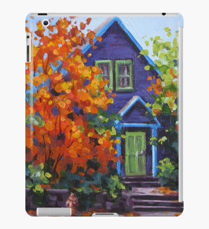 Fall in the Neighborhood iPad Case/Skin