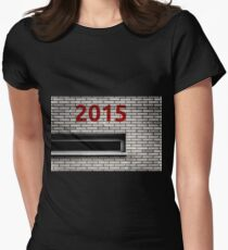 2015 brick work Womens Fitted T-Shirt