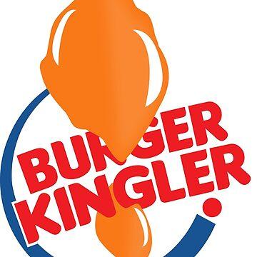 Burger Kingler by CanDeuCrafts