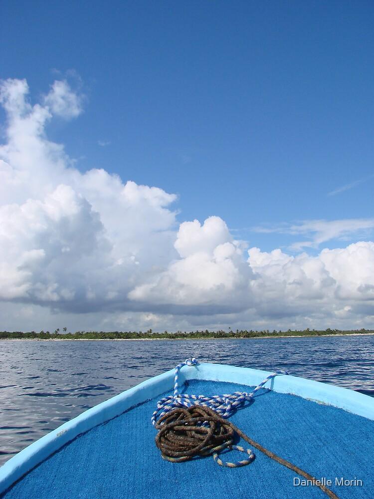 Blue Boat by Danielle Morin