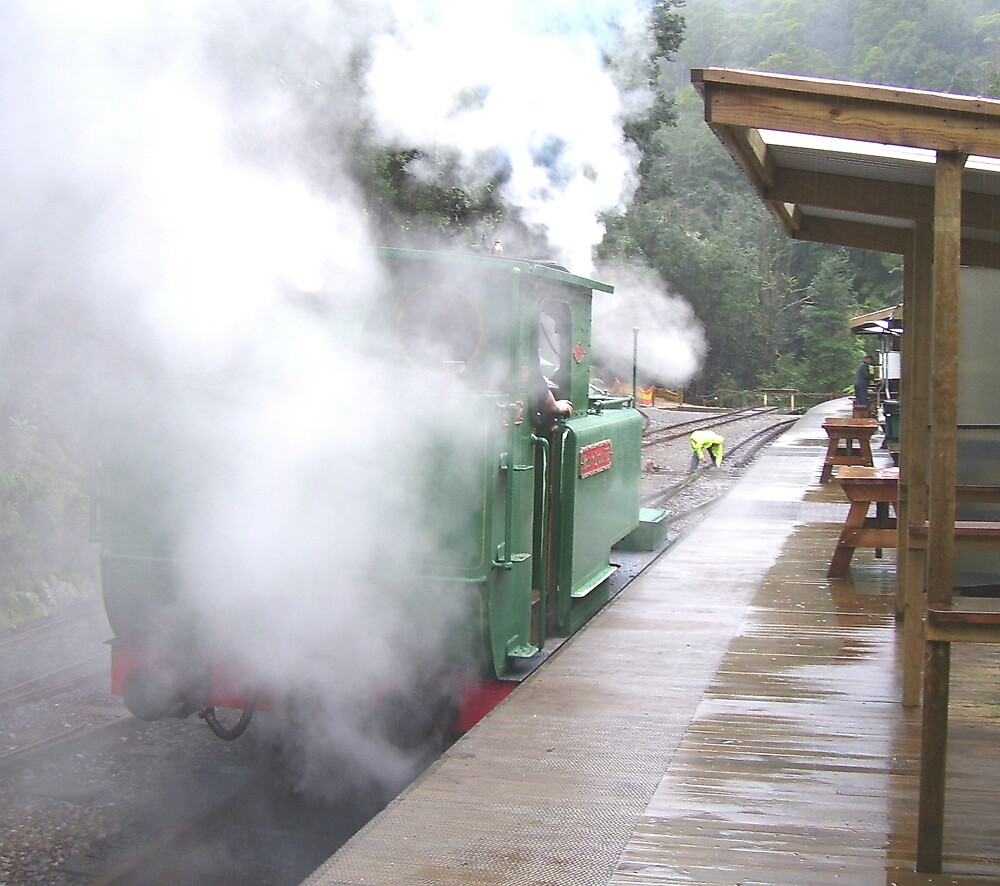 the power of steam!! by gaylene