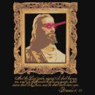 My Saviour has Laser Eyes by Bryan Davidson