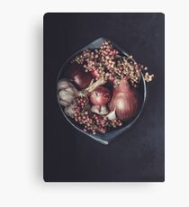 Kitchen Spice - Food Photography Canvas Print