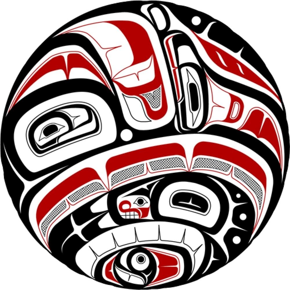 Northwest Tribal Art by SuSquash