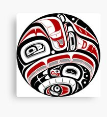Northwest Tribal Art Canvas Print