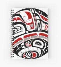 Northwest Tribal Art Spiral Notebook