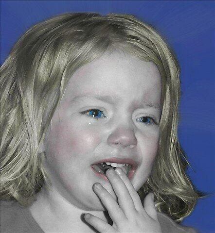 Blue Tears by dazeddahlia
