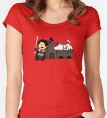 Jon Snow Peanuts Women's Fitted Scoop T-Shirt