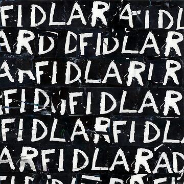 FIDLAR album black by Wyllydd