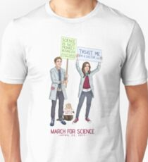 Fitzsimmons - Science March (With Title) Unisex T-Shirt