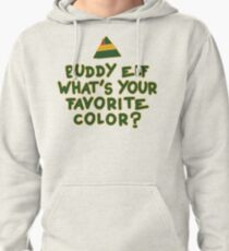 Buddy Elf What's Your Favorite Color? | Buddy The Elf Christmas Quote T-Shirt