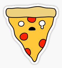 Crying Pizza Slice Sticker
