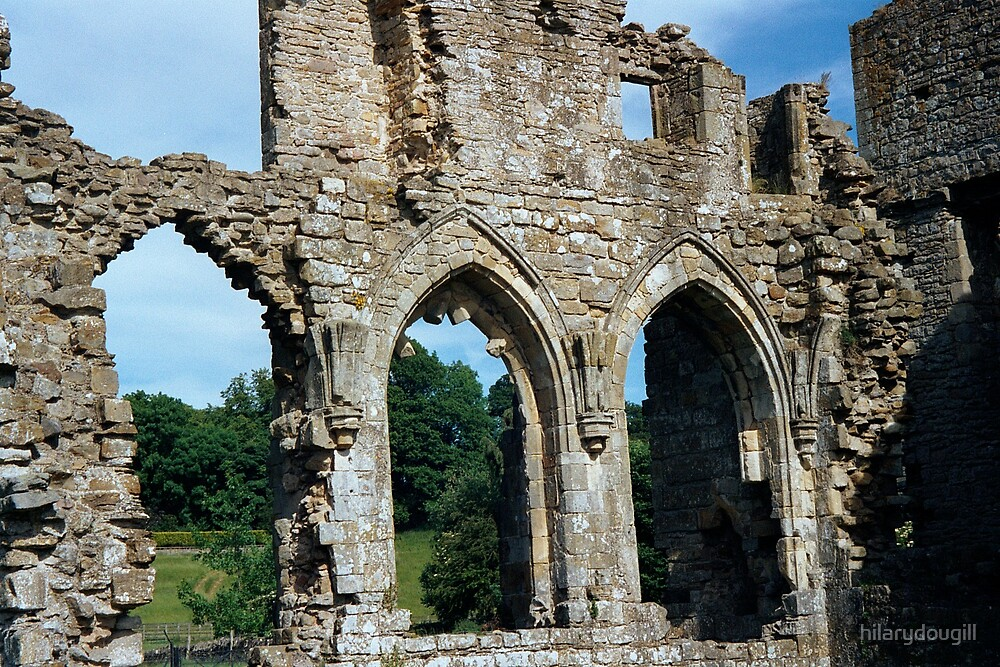 Easby Abbey 2 by hilarydougill