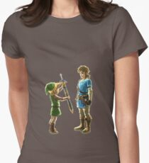 Old Link to New Link Womens Fitted T-Shirt