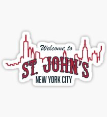 St. John's Sticker