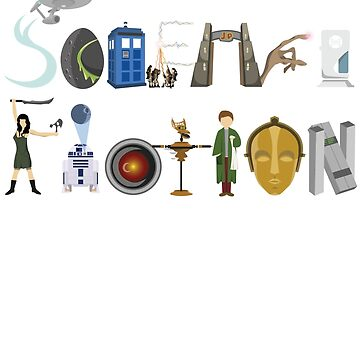 Science Fiction Typography by Wetasaurus