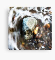 Water & Rocks Metal Print