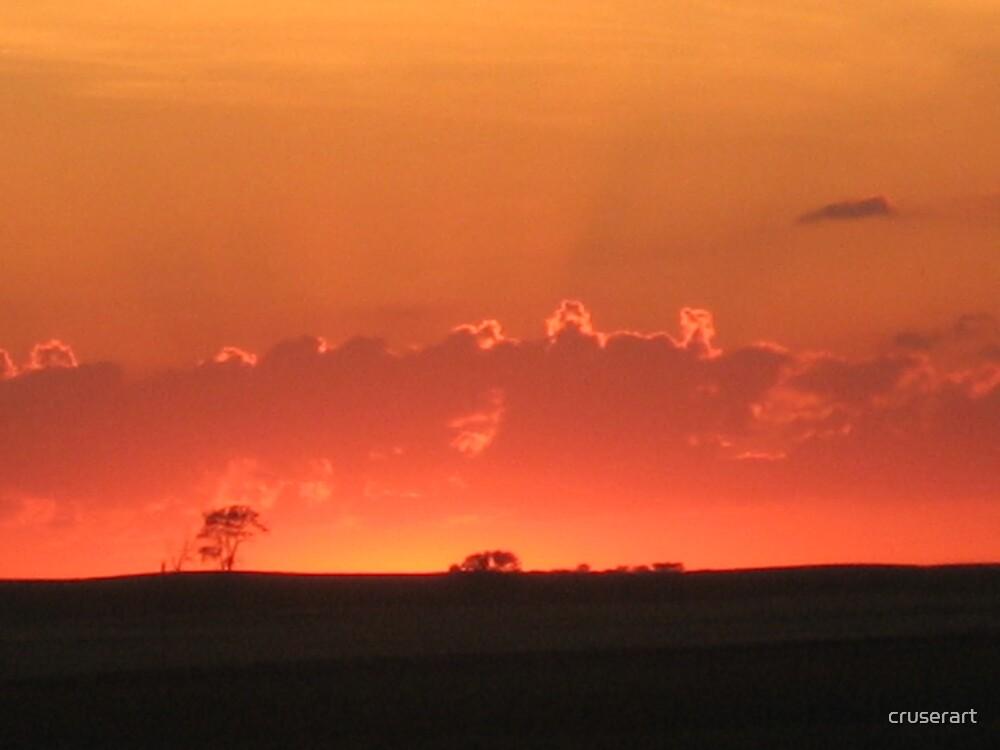 Fire in the sky by cruserart