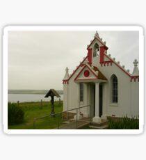 The Italian Chapel, Orkney Sticker