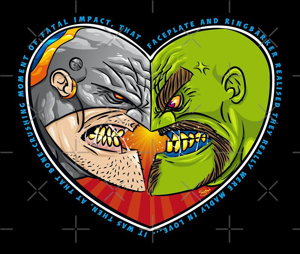 Mutant Vs Cyborg: A Love Story by Simon Sherry