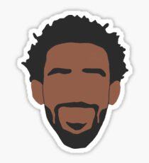 Mike Conley Face Art Sticker
