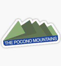 Poconos Sticker