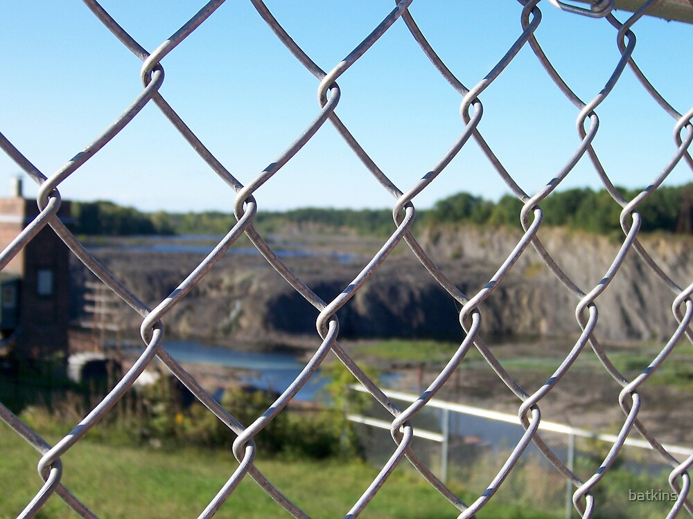 Dry Cohoes Falls by batkins