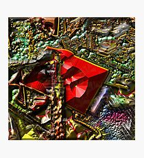 BACK TO THE WOODSHED Photographic Print