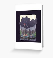 Cloudy Cat Greeting Card