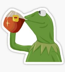 But That's None Of My Business- Kermit the Frog Sticker