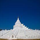 Myanmar. Mingun. The Hsinbyume Pagoda. by vadim19