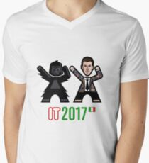 Italy 2017 Men's V-Neck T-Shirt