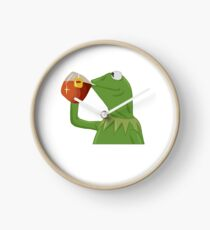 But That's None Of My Business- Kermit the Frog Clock