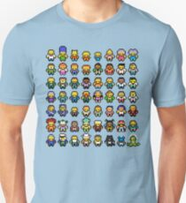 Simpsons Characters Unisex T-Shirt