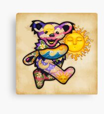 "The ""SunShine"" Bear Canvas Print"