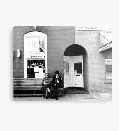 Barber Shop Watertown Tennessee Metal Print