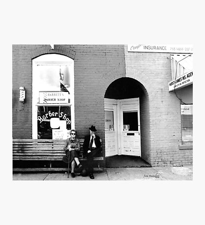 Barber Shop Watertown Tennessee Photographic Print