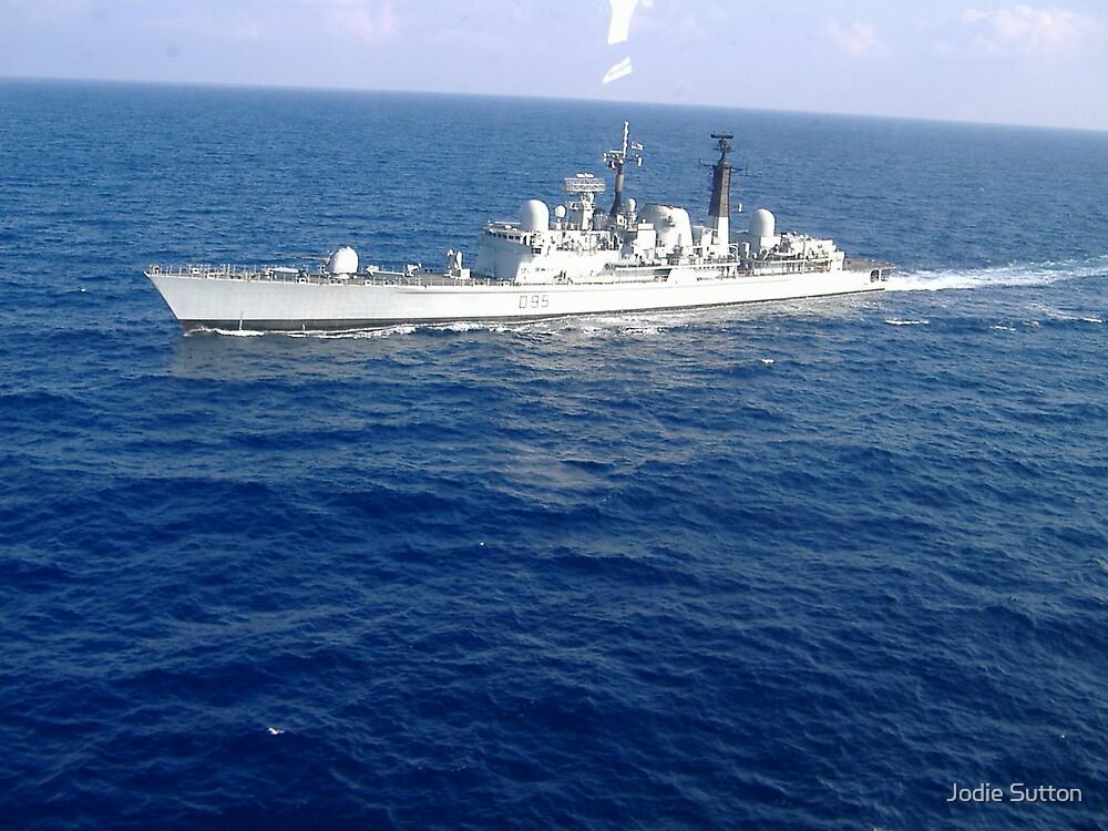 HMS Manchester by Jodie Sutton