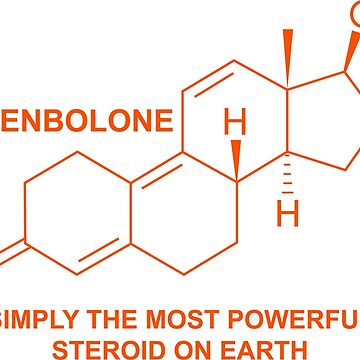 Trenbolone Gym T-shirt Anabolic best selling gym wear by 2stevos