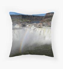 Shoshone Falls Throw Pillow