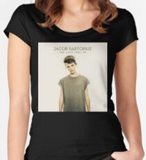 Last Text - Jacob Sartorius Women's Fitted Scoop T-Shirt