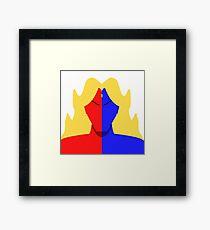 Gill Vector Framed Print