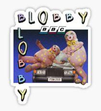 BLOBBY 90's VINTAGE Sticker