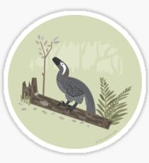 Utahraptor in the Forest Sticker