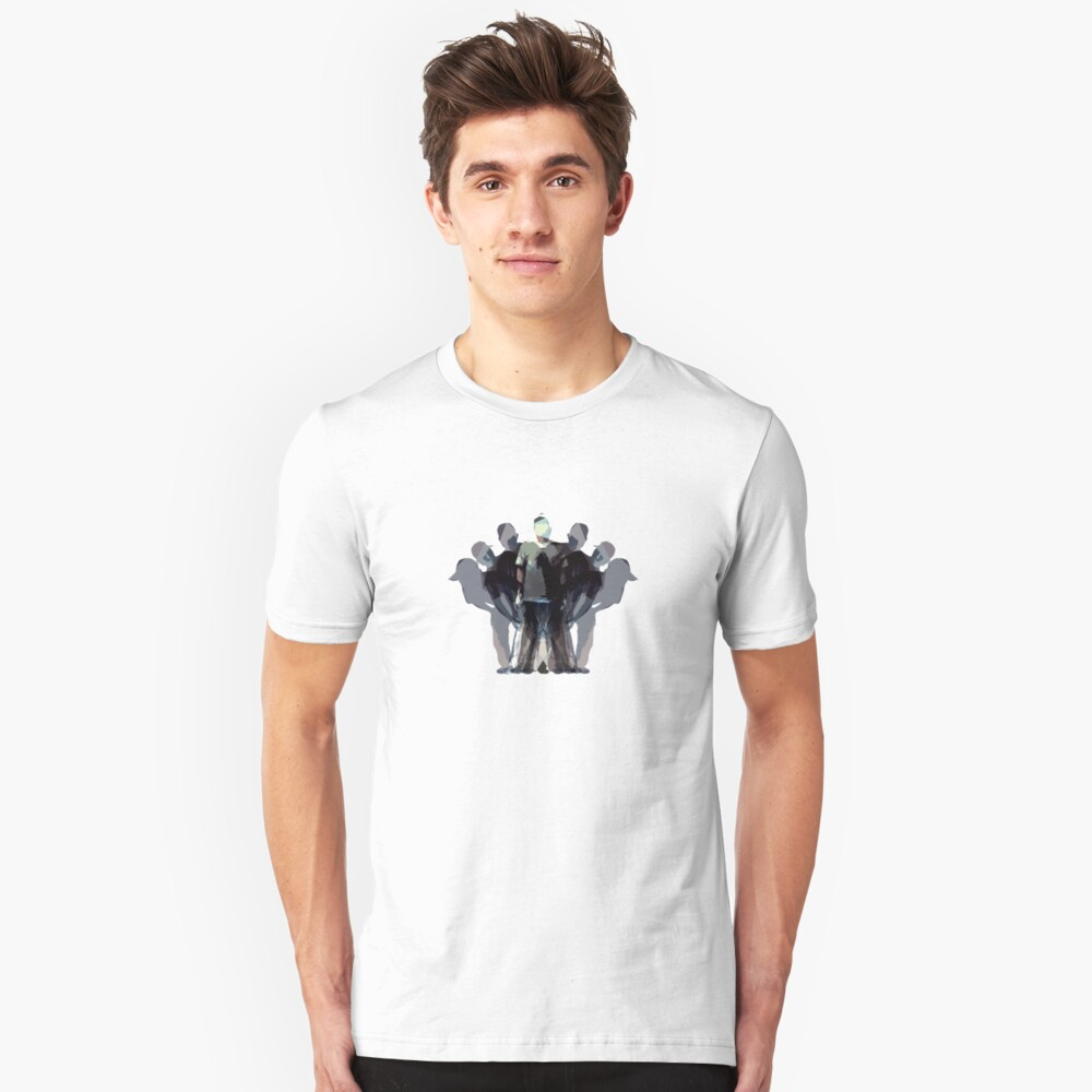 control your own shadows Unisex T-Shirt Front