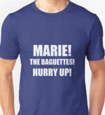 Marie! The Baguettes! Unisex T-Shirt