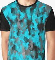 BlueCubesPattern Graphic T-Shirt