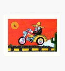 El Taco Vato Art Print