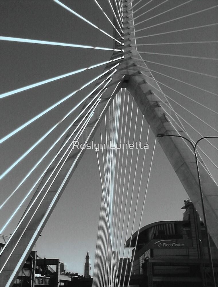 Zakim Bridge by Roslyn Lunetta
