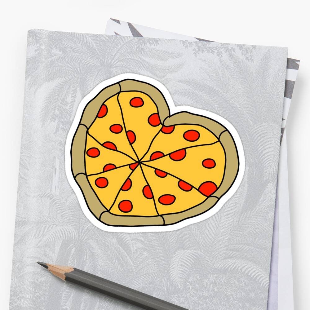 Heart Shaped Pizza Pie\